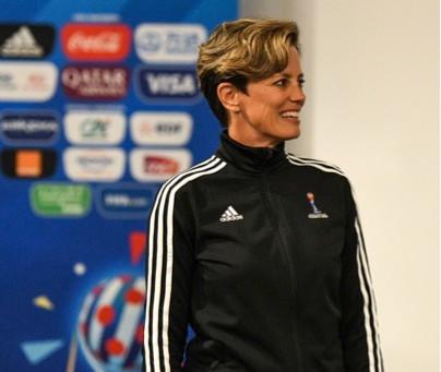 Kari Seitz on women referees