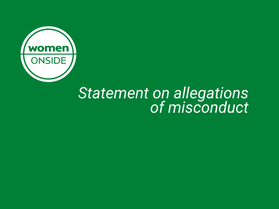 Statement on allegations of misconduct