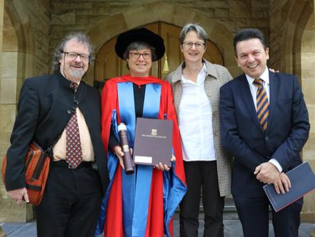 Moya Dodd honoured