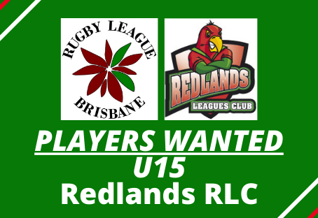 PLAYERS WANTED - Redlands RLC