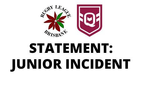Statement: Junior incident