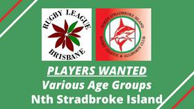 PLAYERS WANTED - Various Age Groups - Nth Stradbroke Island Sharks