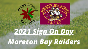 Sign On Day - Moreton Bay Raiders - Saturday, 6 February