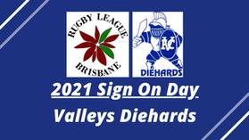 Registrations Now Open - Valleys Diehards