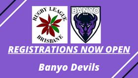 Registrations Now Open: Banyo Devils