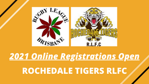 Online Registrations Open - Rochedale Tigers RLFC