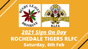 2021 Sign On Day - Rochedale Tigers RLFC