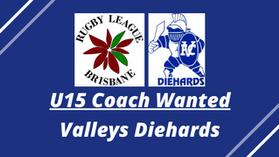 U15 Coach Wanted - Valleys Diehards
