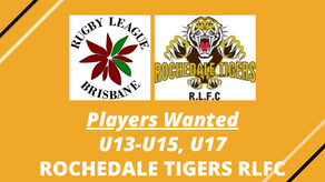 PLAYERS WANTED - Rochedale Tigers RLFC