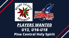 PLAYERS WANTED - Pine Central Holy Spirit