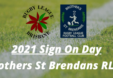 Sign On Day - Brothers St Brendans - Sunday, 7 February