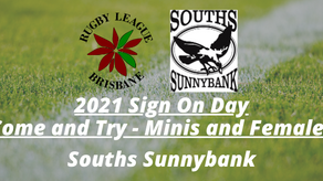 Sign On Day - Souths Sunnybank - Saturday, February 6