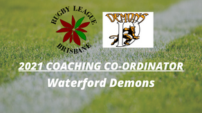 2021 Coaching Co-Ordinator - Waterford RLFC