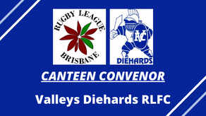 CANTEEN CONVENOR - Valleys Diehards RLFC
