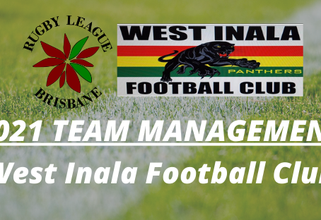 2021 Team Management Positions - West Inala Football Club