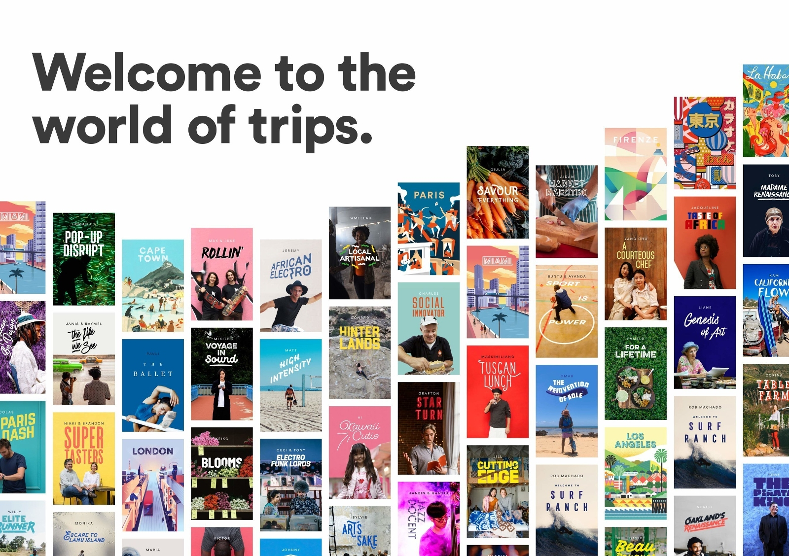 Airbnb Experiences / World of Trips