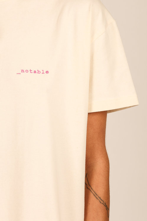 NOTABLE t-shirt