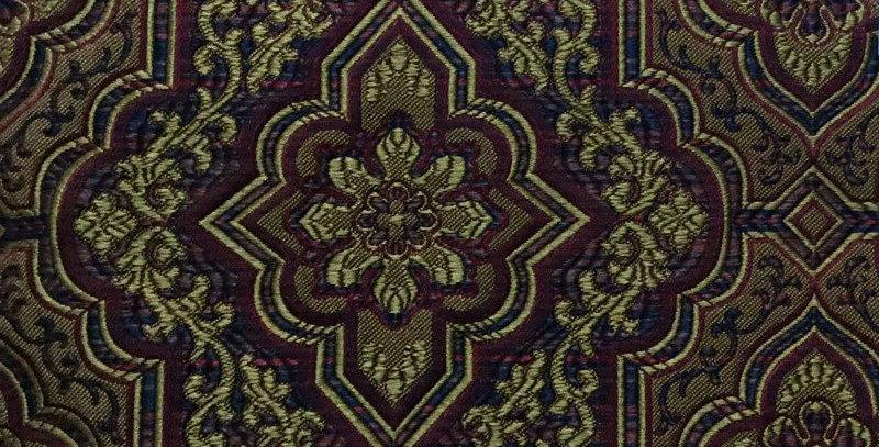 Burgundy Mosaic Tile Like