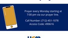 Join us for prayer!