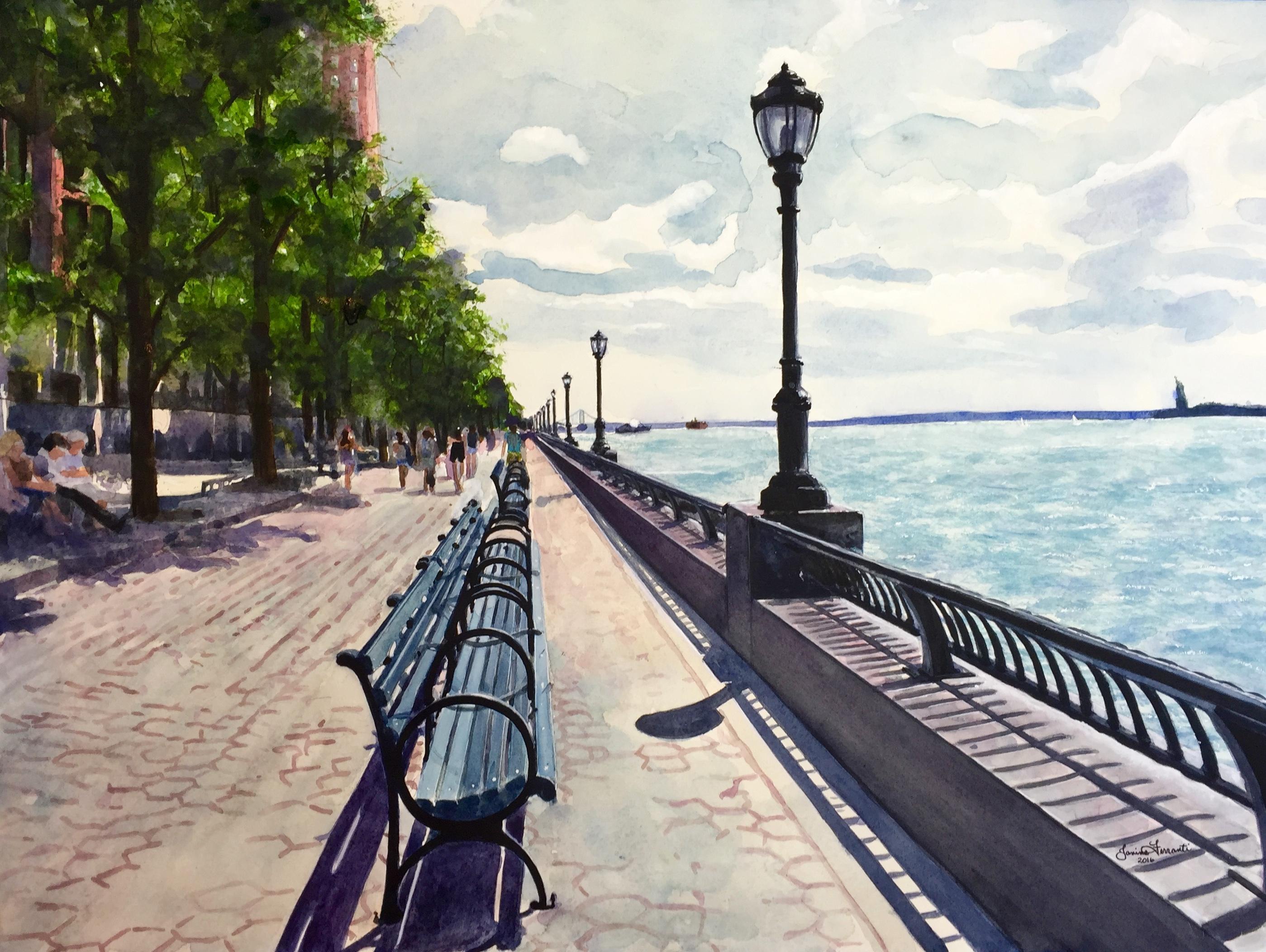 """Battery Park City"""