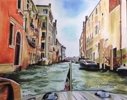 """Saying Goodbye to Venice"""