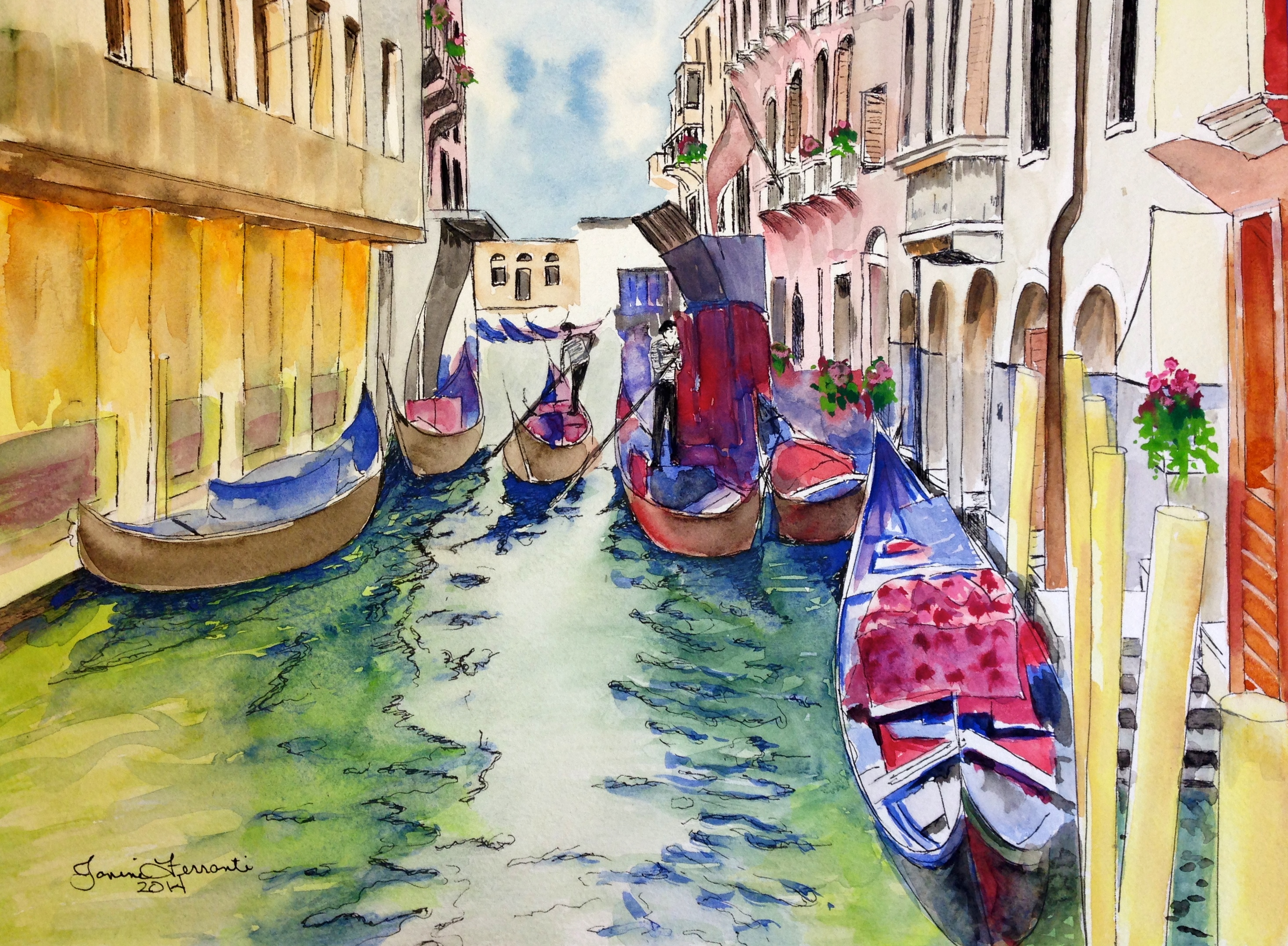 """Venice In The Morning"""