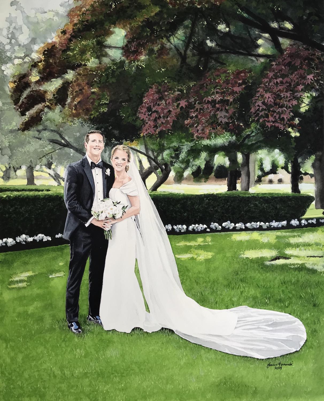 Patricia & Chris
