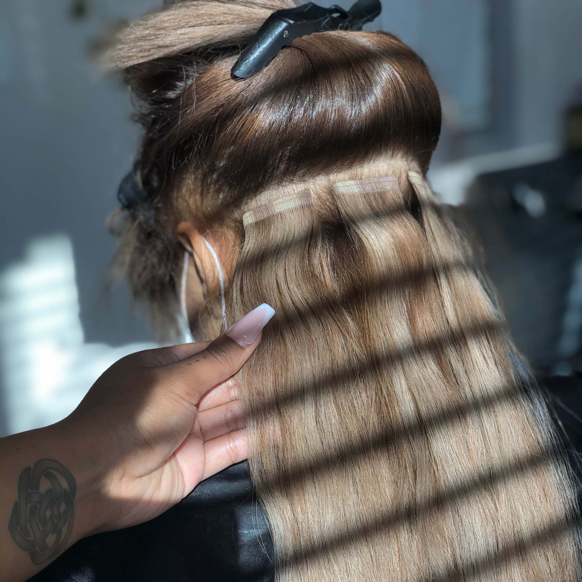 Tape-Extensions (Removal)
