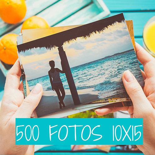 PACK 500 FOTOS 10X15