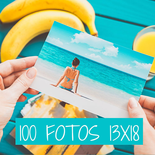 PACK 100 FOTOS 13X18
