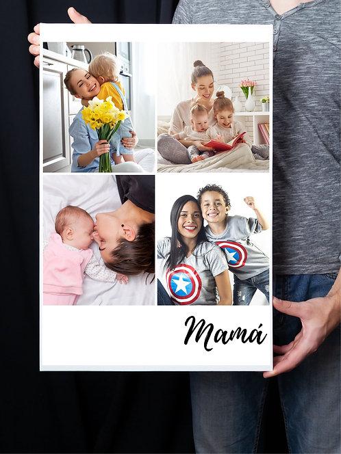 FOTO CANVAS / LIENZO MAMÁ 30x40
