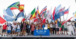 Le défilé des nations | ISA WSG 2018