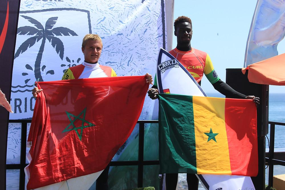 Cet événement important est suite à la création de la Confédération Africaine de Surf.