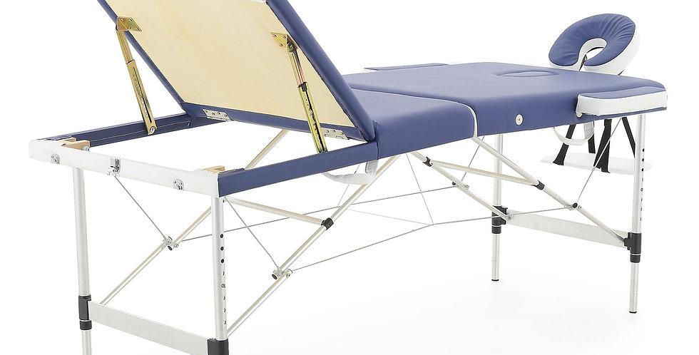 Массажный стол складной алюминиевый JFAL01A 3-х секционный