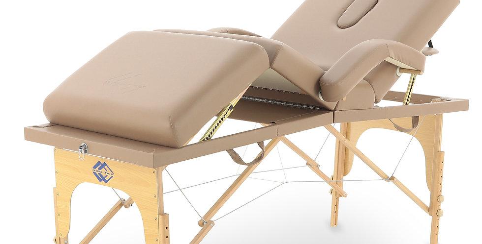 Массажный стол складной деревянный  JF-Tapered (МСТ-141)