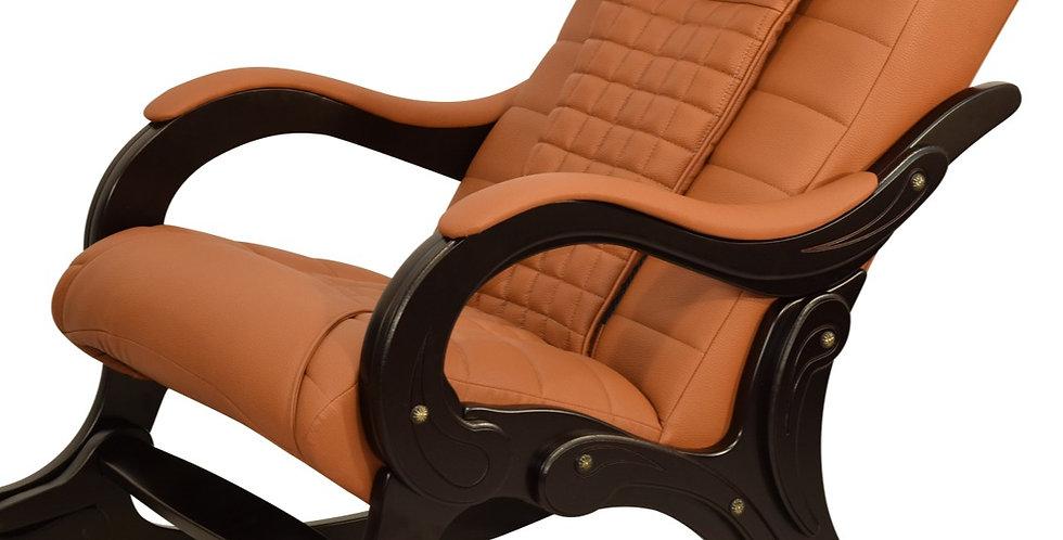 Массажное кресло-качалка комбинированная кожа стандарт