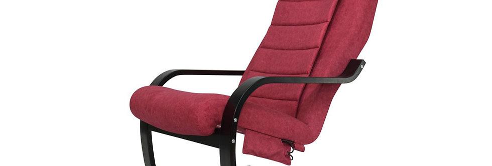 Массажное лофт-кресло для отдыха Микрофибра Пурпурный