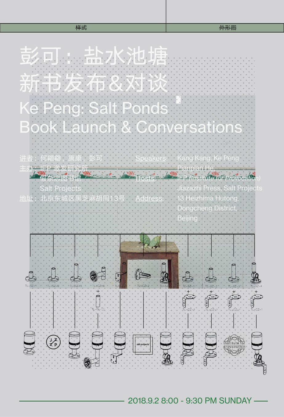 IFP 新书发布会 | 彭可:《盐水池塘》新书发布 & 对谈