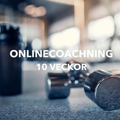 ONLINECOACHING -  10 Veckor