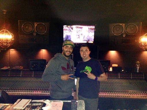 Mixing with Jaycen Joshua in LA