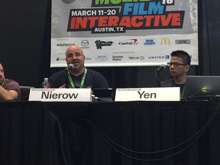 Speaking at SXSW