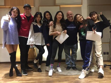 YWGG at 55TEC Studio - Beijing