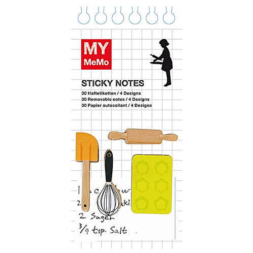 Pastry Chef Sticky Notes