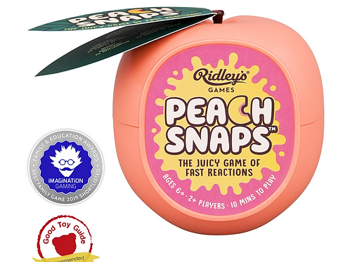Peach Snaps Card Game