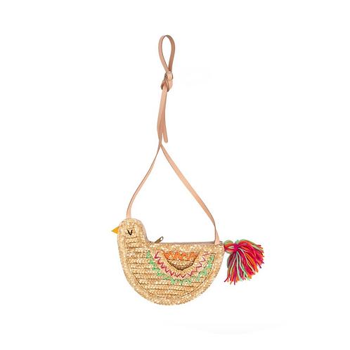 Bird Straw Bag