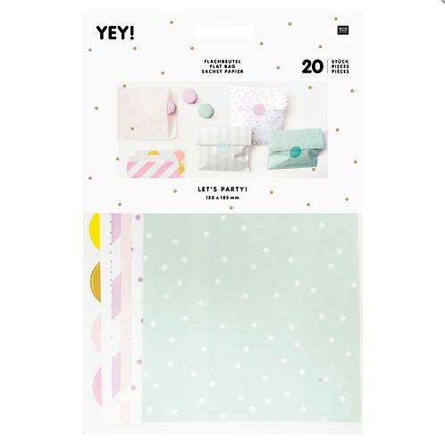 Flat Paper Bag Mix (S)