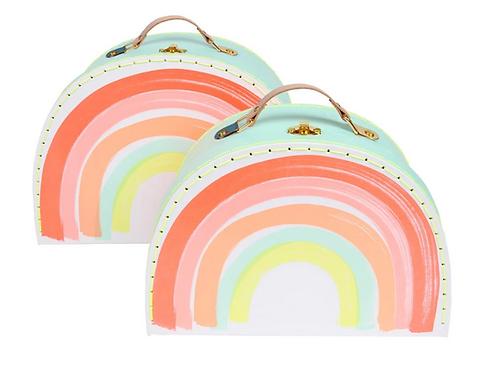 Regenbogenkoffer