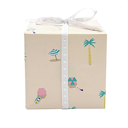 Strand Geschenkpapier