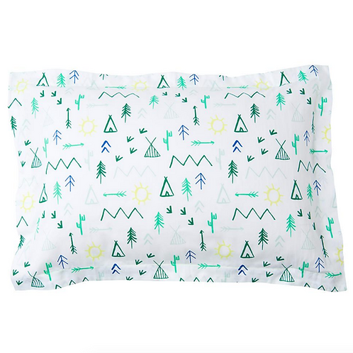 CAMPGROUND PILLOW CASE