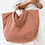 Thumbnail: Terracotta Travel Cloud Bag